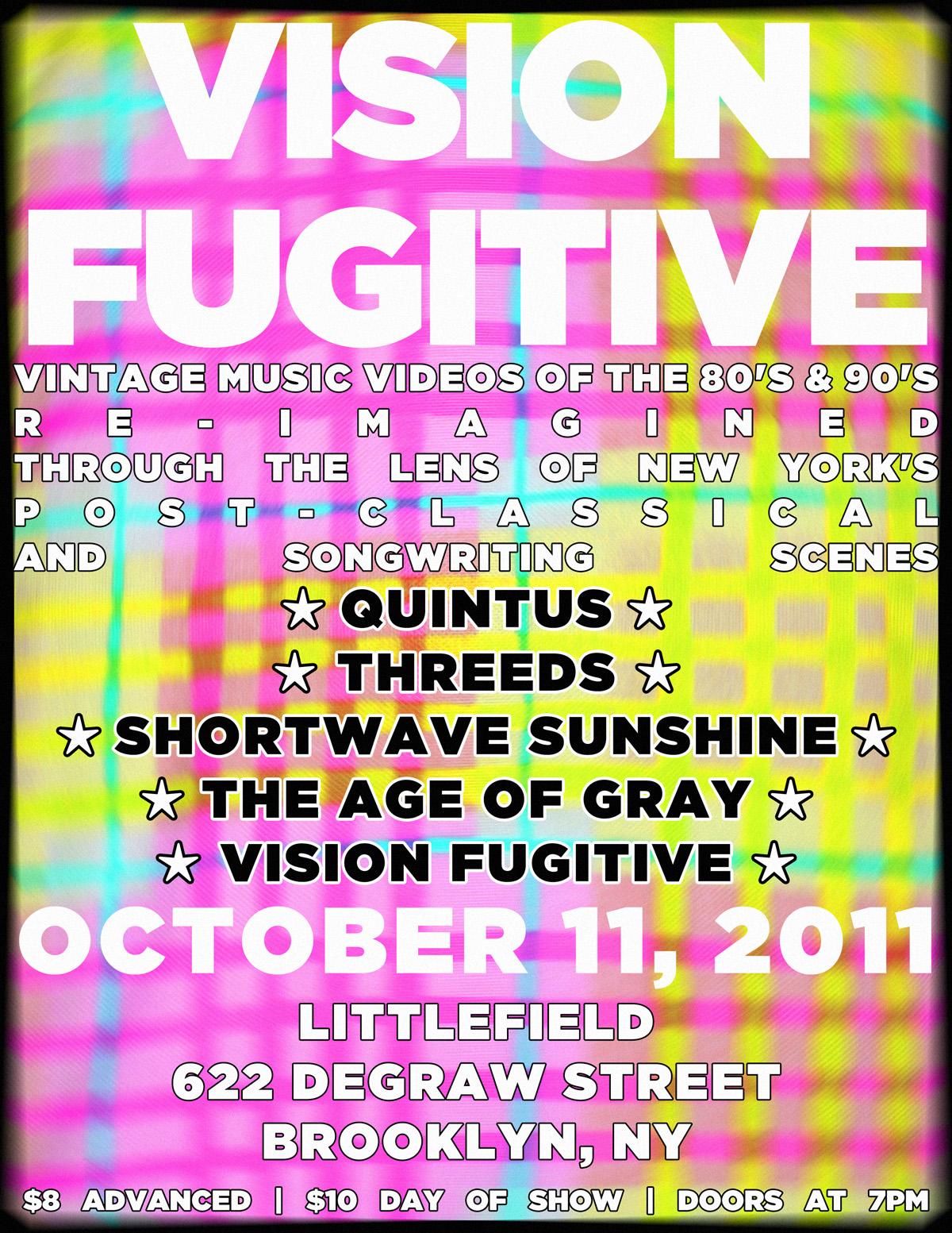 Vision Fugitive Concert